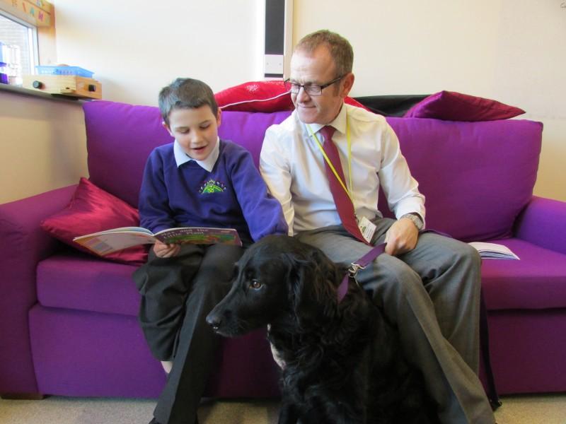 Queens Hill Primary School Seb School Dog